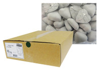 Belgian Milk Chocolate Hearts - White (5kg Box)
