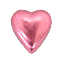 Belgian Milk Chocolate Hearts - Rose (5kg Box)