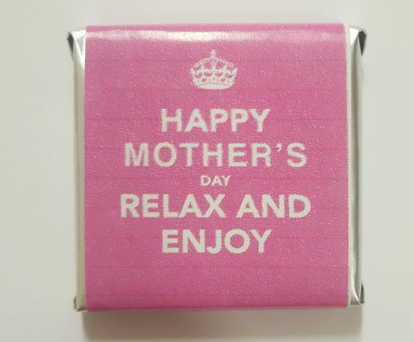 Mothers Day Belgian Chocolate - Bulk - Keep Calm Motif Individually Wrapped and more Confectionery at The Professors Online Lolly Shop. (Image Number :11068)