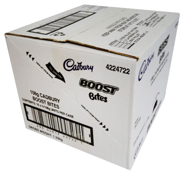 Cadbury Boost Bites Sharepack, by Cadbury,  and more Confectionery at The Professors Online Lolly Shop. (Image Number :11737)