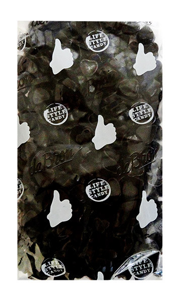 de Bron Sugar Free Salt Licorice - Hartjes  - Hearts and more Confectionery at The Professors Online Lolly Shop. (Image Number :11325)