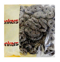 Donkers Dutch Licorice -  Dropkrakelingen and more Confectionery at The Professors Online Lolly Shop. (Image Number :11327)