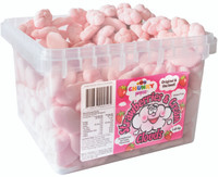 Chunky Funkeez Strawberry & Cream Clouds (Approx 300 Clouds  in a display container)