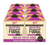 Gran's Gift Box - English Toffee Fudge (140g box x 6 in a display box)
