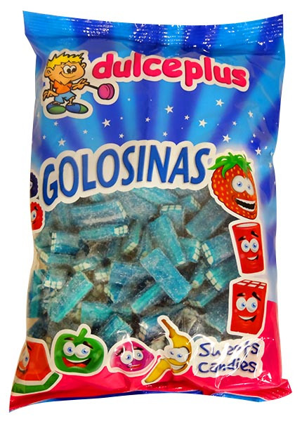 Dulce Plus Bricks - Blue Raspberry and more Confectionery at The Professors Online Lolly Shop. (Image Number :12932)