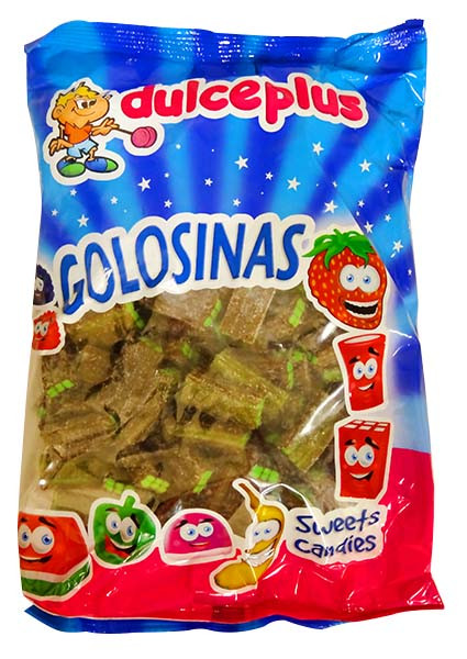 Dulce Plus Bricks - Cola and more Confectionery at The Professors Online Lolly Shop. (Image Number :12933)