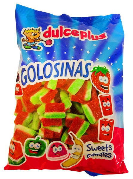 Dulce Plus Watermelon Slices and more Confectionery at The Professors Online Lolly Shop. (Image Number :11750)