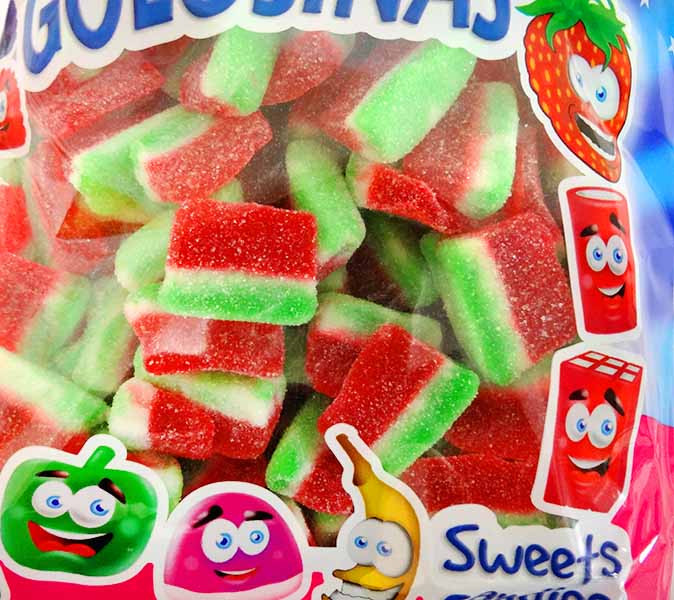 Dulce Plus Watermelon Slices and more Confectionery at The Professors Online Lolly Shop. (Image Number :11751)