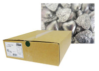 Belgian Milk Chocolate Hearts - Silver (5kg Box)