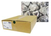 Belgian Milk Chocolate Hearts - Silver (5kg Box)