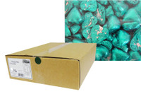 Belgian Milk Chocolate Hearts - Aqua (5kg Box)