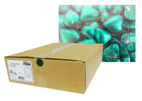 Belgian Milk Chocolate Hearts - Teal (5kg Box)
