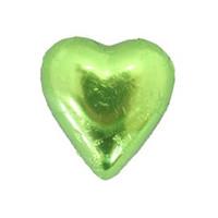 Belgian Milk Chocolate Hearts - Lime (5kg Box)