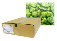 Belgian Milk Chocolate Hearts - Lime (5kg Box)
