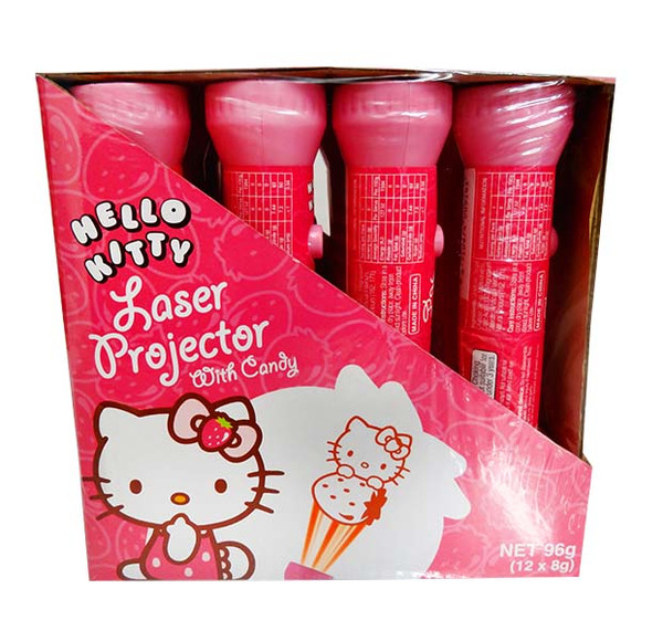 Hello Kitty Laser Projector and more Confectionery at The Professors Online Lolly Shop. (Image Number :11496)
