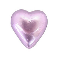 Belgian Milk Chocolate Hearts - Lilac (500g Bag)