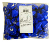 Belgian Milk Chocolate Hearts - Dark Blue and more Confectionery at The Professors Online Lolly Shop. (Image Number :11474)