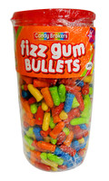 Candy Brokers Fizzy Gum Bullets (600 pc jar)