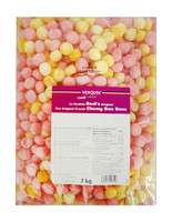 Verquin Bon Bons Rhubarb And Custard (3kg bag)