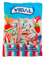 Vidal Tutti Frutti  Bottles and more Confectionery at The Professors Online Lolly Shop. (Image Number :11636)