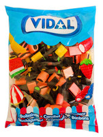 Vidal Licorice Allsorts ( 1kg Bag)