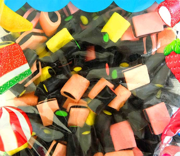 Vidal Licorice Allsorts, by vidal,  and more Confectionery at The Professors Online Lolly Shop. (Image Number :11632)