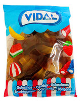 Vidal Giant Cola Bottle ( 1kg Bag)