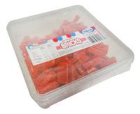 Vidal Sour Strawberry Bricks  (1kg Tub)