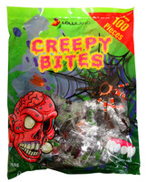 Creepy Bites and more Confectionery at The Professors Online Lolly Shop. (Image Number :13686)