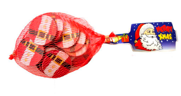 Witors Milk Chocolate Santa Belts and more Confectionery at The Professors Online Lolly Shop. (Image Number :11425)