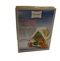 Gingerbread House Kit with decorations and more Confectionery at The Professors Online Lolly Shop. (Image Number :11419)