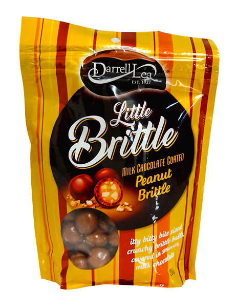 Darrell Lea Little Brittle Choc Peanut and more Confectionery at The Professors Online Lolly Shop. (Image Number :11719)