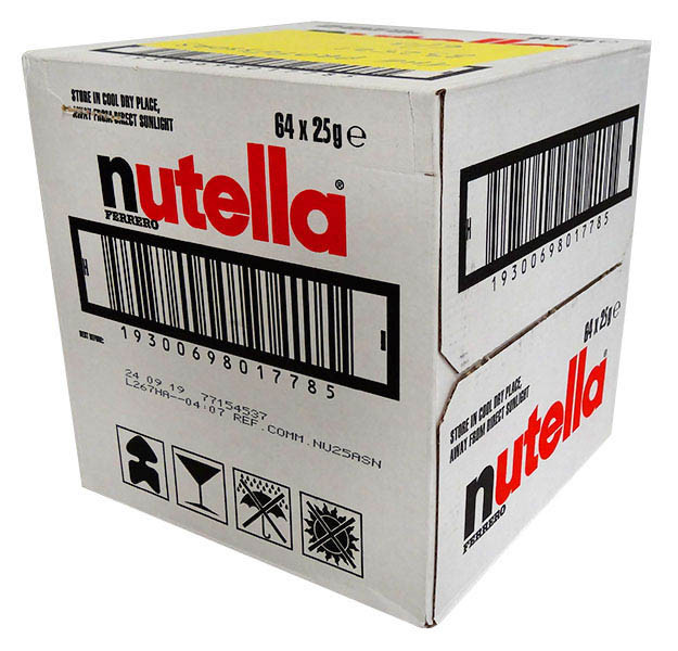 Nutella Mini Jars and more Snack Foods at The Professors Online Lolly Shop. (Image Number :13246)