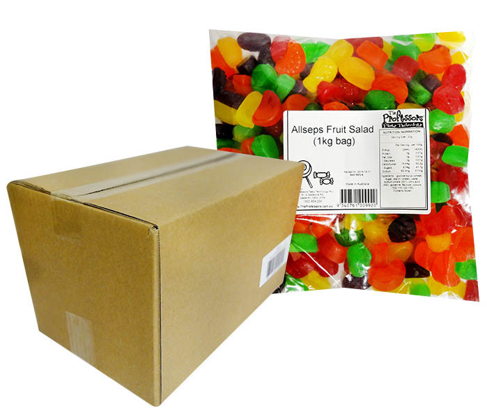 Allseps Bulk Fruit Salad Mix, by Allseps,  and more Confectionery at The Professors Online Lolly Shop. (Image Number :12128)