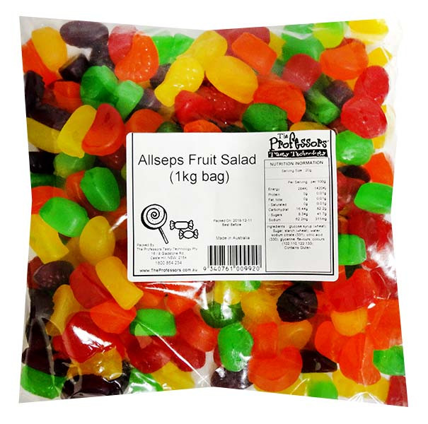 Allseps Bulk Fruit Salad Mix, by Allseps,  and more Confectionery at The Professors Online Lolly Shop. (Image Number :12129)
