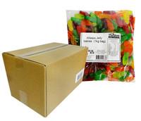 Allseps Bulk Jelly Babies (8x1Kg Bags)