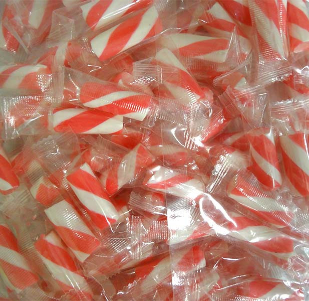 Sweet Treats Pink and White Striped  Hard Candy Sticks and more Confectionery at The Professors Online Lolly Shop. (Image Number :13655)