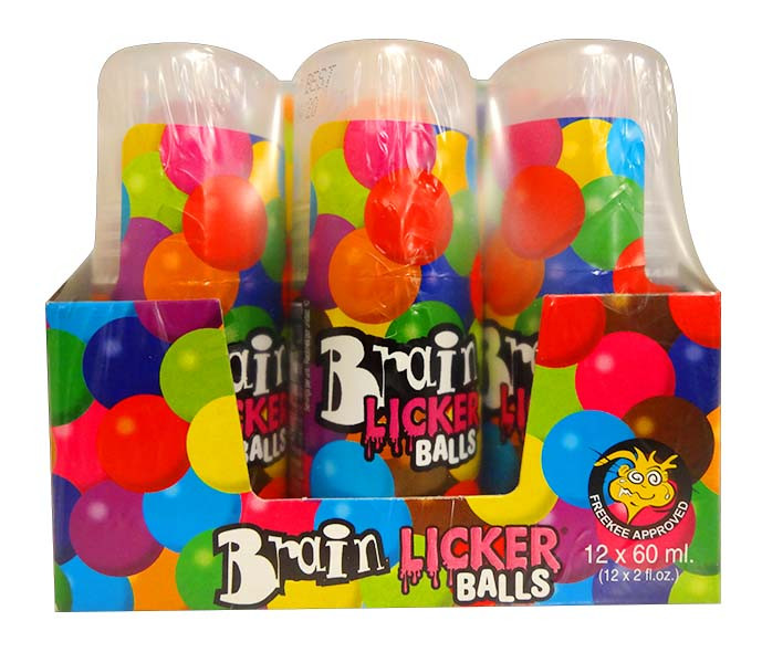 Brain Licker Balls, by Candy Brokers,  and more Confectionery at The Professors Online Lolly Shop. (Image Number :11715)