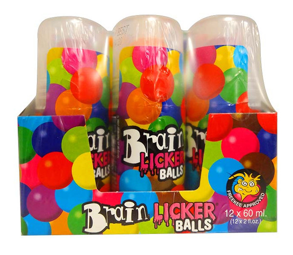 Brain Licker Balls, by Universal Candy,  and more Confectionery at The Professors Online Lolly Shop. (Image Number :11715)