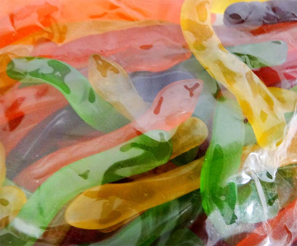 Allseps Snakes, by Allseps,  and more Confectionery at The Professors Online Lolly Shop. (Image Number :12122)