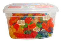 Trolli Gummi Bear Tub, by Trolli,  and more Confectionery at The Professors Online Lolly Shop. (Image Number :13031)