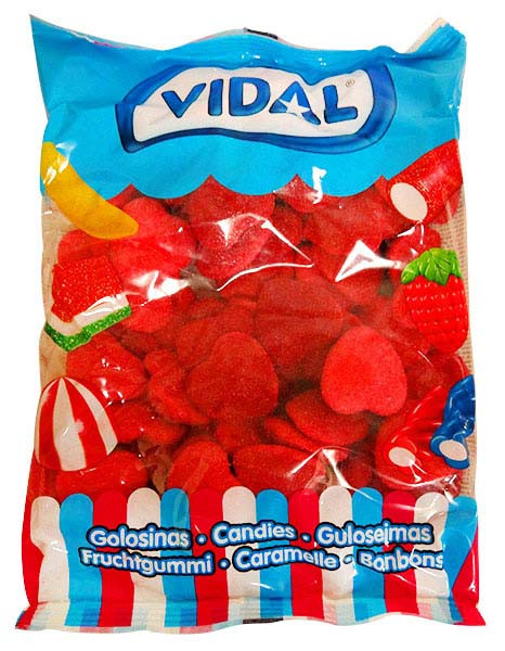 Vidal Shiny Hearts, by Candy Brokers,  and more Confectionery at The Professors Online Lolly Shop. (Image Number :13303)