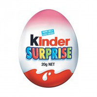 Kinder Surprise - Pink (20g x 24 Egg pack)