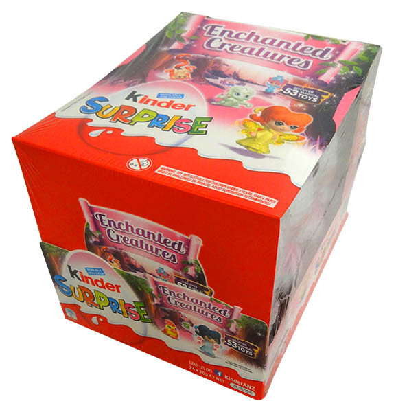 Kinder Surprise - Pink, by Kinder/Kinder Bueno,  and more Confectionery at The Professors Online Lolly Shop. (Image Number :13981)