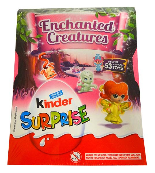 Kinder Surprise - Pink, by Kinder/Kinder Bueno,  and more Confectionery at The Professors Online Lolly Shop. (Image Number :13983)