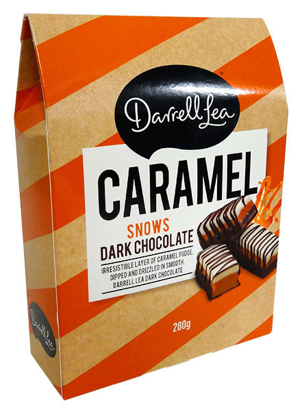 Darrell Lea - Caramel Snows and more Confectionery at The Professors Online Lolly Shop. (Image Number :13139)