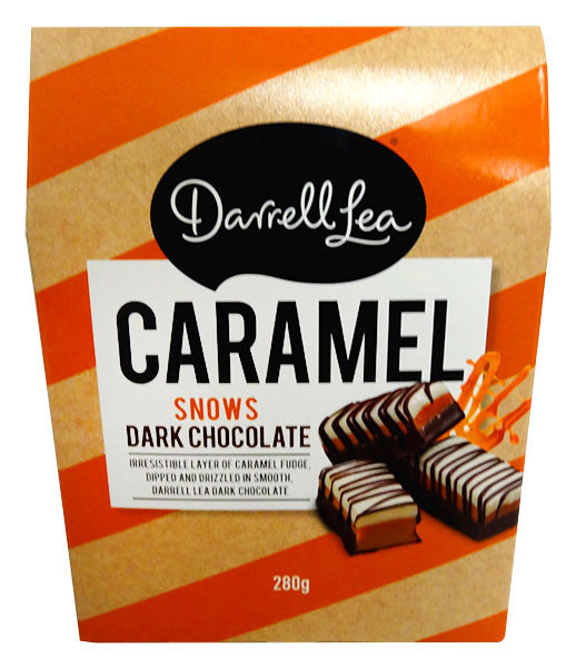 Darrell Lea - Caramel Snows and more Confectionery at The Professors Online Lolly Shop. (Image Number :13140)
