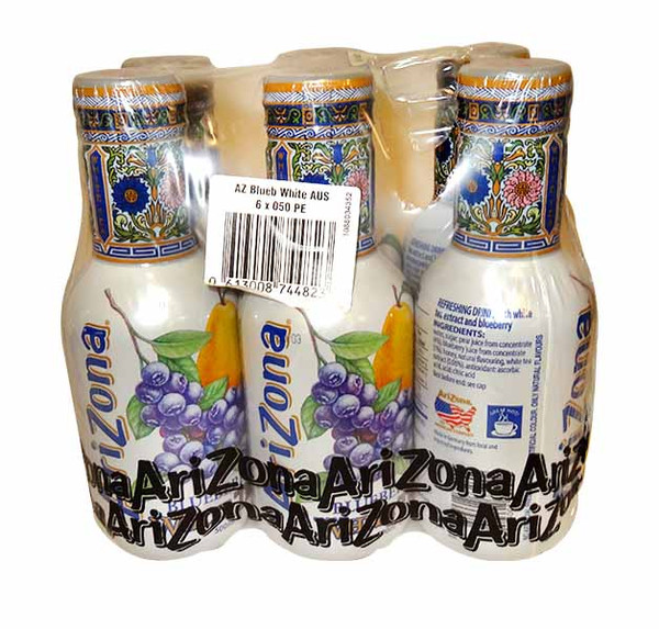 Arizona Ice Tea -  Blueberry White - Short Date Special, by Arizona,  and more Beverages at The Professors Online Lolly Shop. (Image Number :11734)