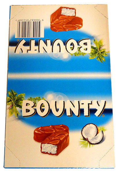 Bounty Bars Milk-Chocolate, by Cadbury,  and more Confectionery at The Professors Online Lolly Shop. (Image Number :13200)