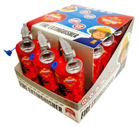 Fireman Sam Fire Extinguisher and more Confectionery at The Professors Online Lolly Shop. (Image Number :13045)